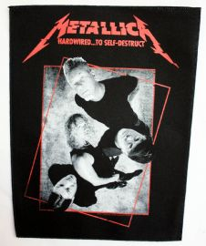 Metallica - 'Hardwired' Giant Backpatch